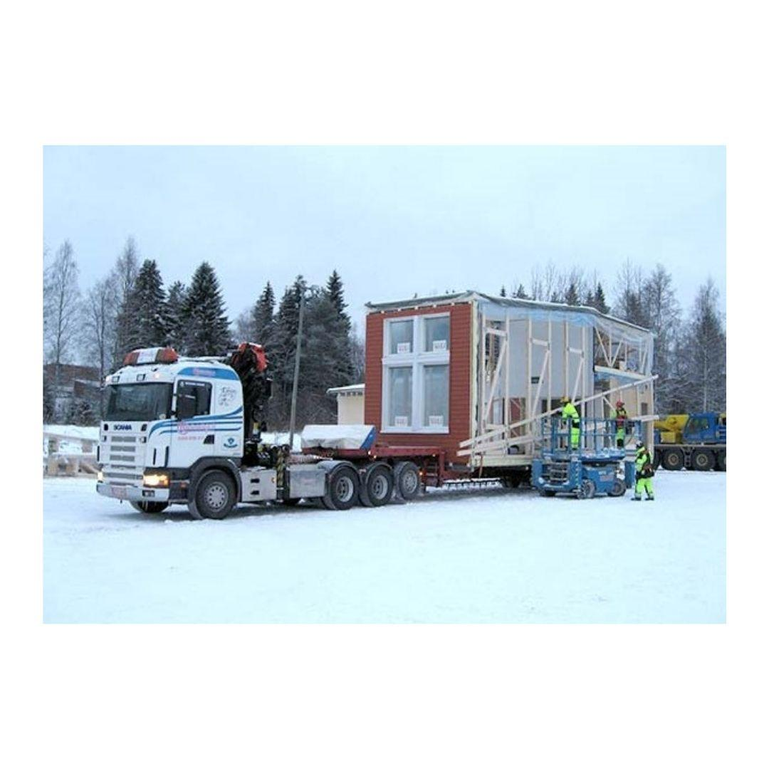 Transportation in Rovaniemi.