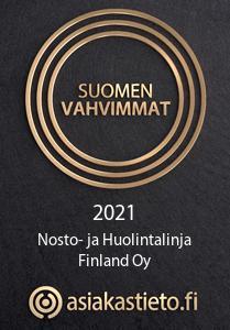 Suomen vahvimmat logo.